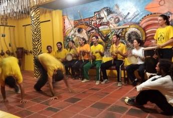 Grupo de Capoeira Angola de Alter-do-Chão (GCANAC) (Foto: divulgação/ (GCANAC) )