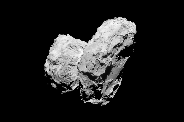 Cometa 67P (Foto: ESA)