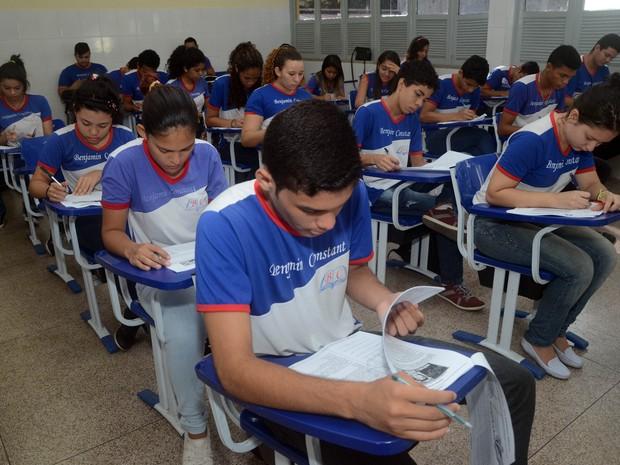 Seduc escola estadual escola pará Belém (Foto: Fernando Nobre/Seduc)