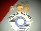 Mulher é presa por tráfico de drogas em Laranjal Paulista