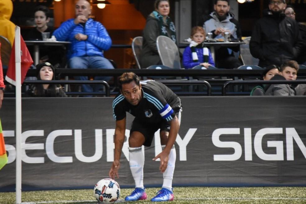 7be1119d06eca ... Ibson em ação pelo Minnesota United na MLS (Foto  Divulgação Minnesota  ...