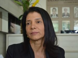 Sirlene Bastos, adjunta da Secretaria de Justiça do Estado (Foto: Hosana Morais/G1)
