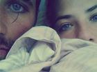 Giovanna Ewbank posta foto com Bruno Gagliasso na cama