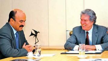 Eduardo Carlos e ministro (Foto: Reprodução)