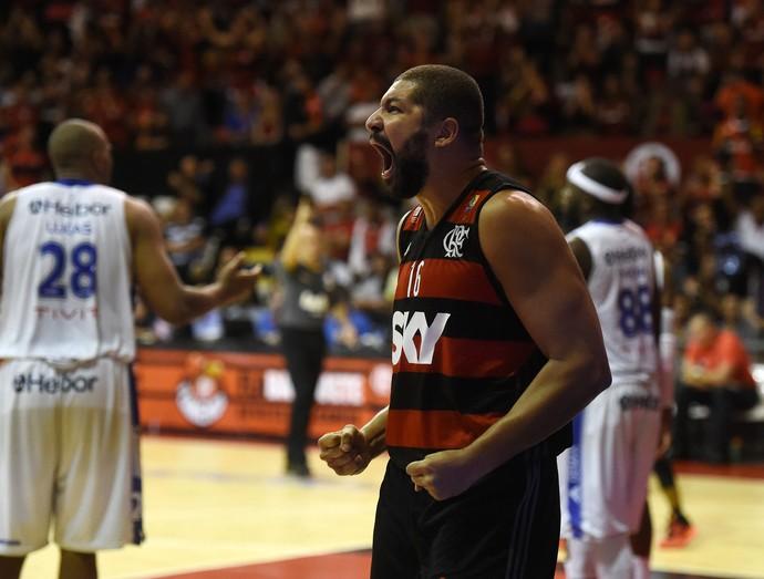 Olivinha Flamengo x Mogi NBB Basquete (Foto: André Durão)
