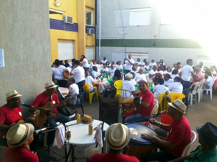 Bloco histórico do Carnaval de Rua de Porto Alegre, Satélite Prontidão foi fundado em 1902 (Foto: Divulgação/Bloco Satélite Prontidão)