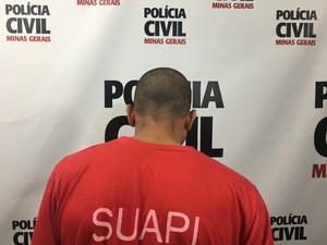Jovem é suspeito de roubar cinco postos de combustíveis (Foto: Polícia Civil/Divulgação)