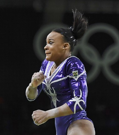 Rebeca Andrade final individual ginástica artística (Foto: Dylan Martinez/REUTERS)