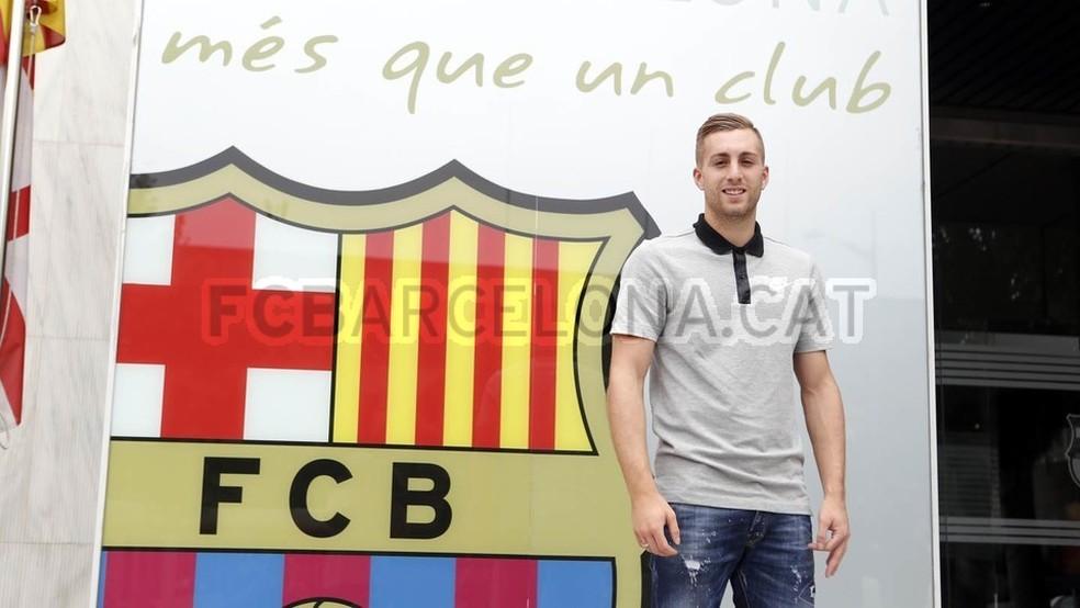 Deulofeu retorna ao Barça após quatro temporadas longe da equipe (Foto: Divulgação/Site oficial do Barcelona)