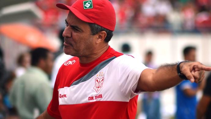 Saldanha fala sobre derrota do Sergipe (Foto: Felipe Martins)