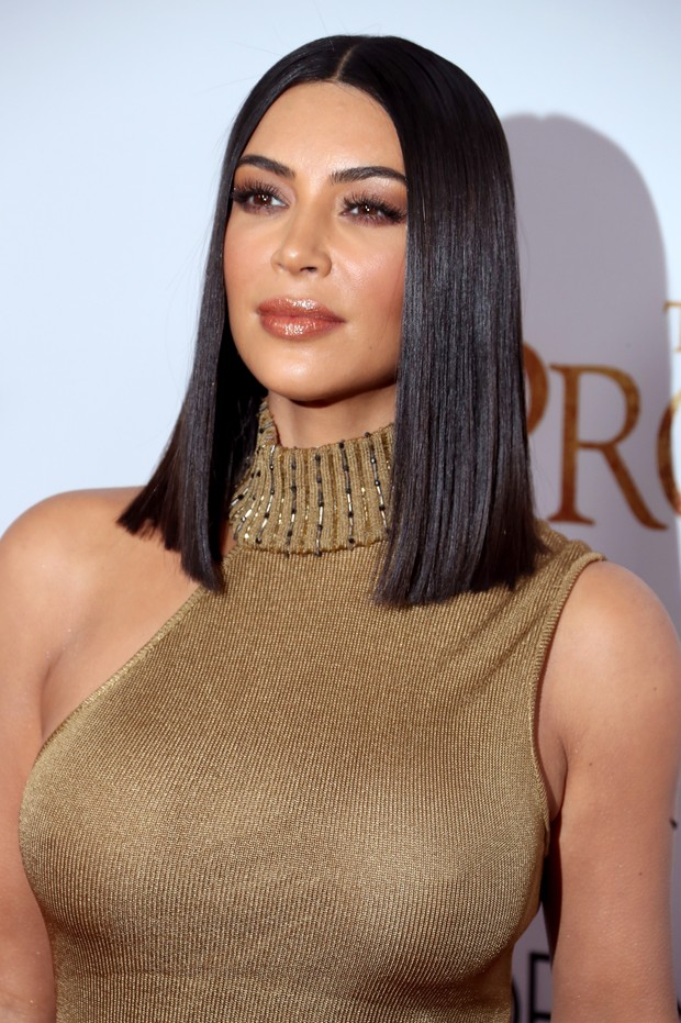 Kim Kardashian em première me Los Angeles, nos Estados Unidos (Foto: Frederick M. Brown/ Getty Images/ AFP)