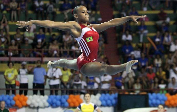 Rebeca Andrade ginástica Olímpica (Foto: Ricardo Bufolin / CBG)