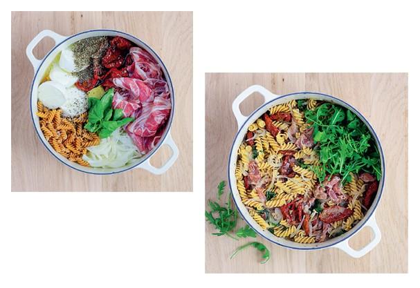 Gourmet: Pancetta e tomate seco (Foto: Akiko Ida / Divulgação)