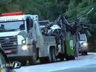 Peritos investigam causas do acidente de ônibus que matou 18 em SP