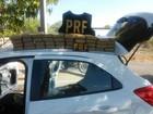 Polícia Rodoviária prende casal com 40 quilos de drogas em rodovia do CE