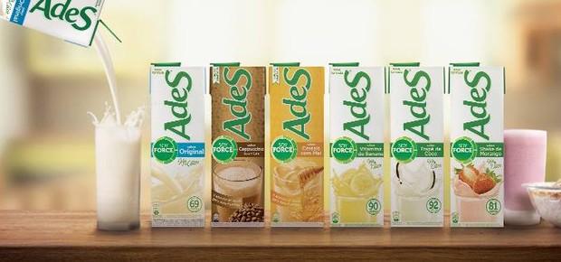 Produtos da AdeS, vendida para a Coca-Cola (Foto: Divulgação)