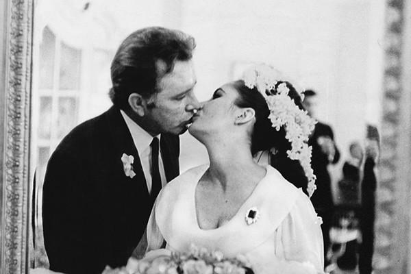 Richard Burton e Elizabeth Taylor (Foto: Getty Images)