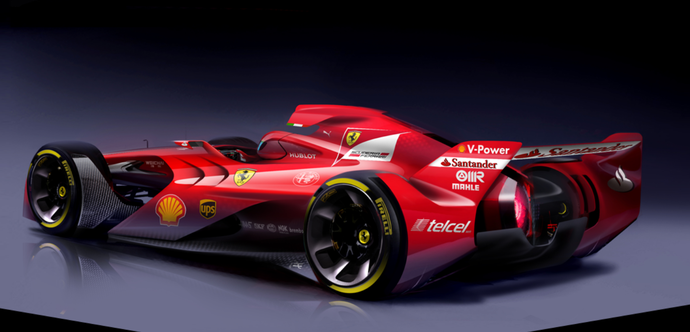 Conceito de carro da Ferrari (Foto: Divulgação)