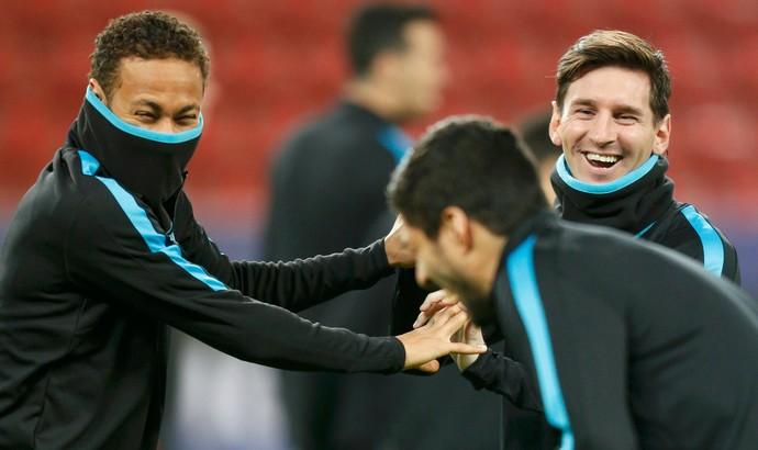 Neymar Messi Suárez Barcelona (Foto: Reuters)
