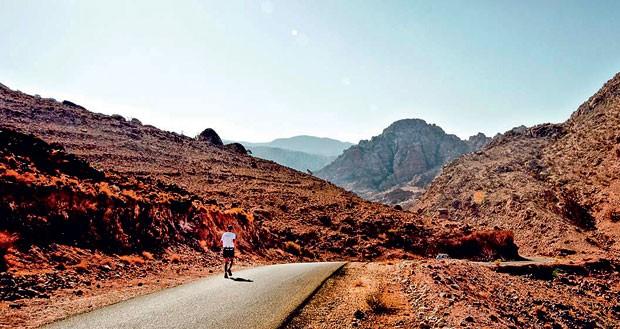 Maratona Jordânia (Foto: Divulgação)