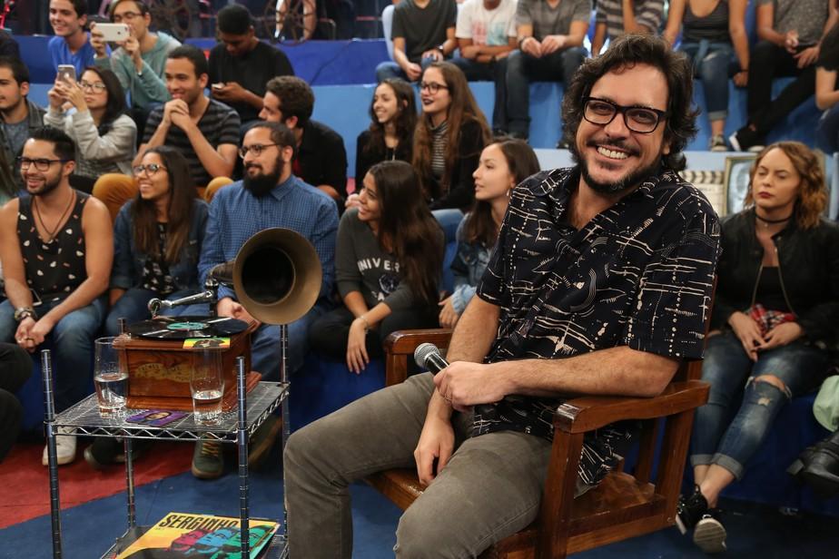 Lúcio Mauro Filho conta que nome artístico já causou perrengue no aeroporto