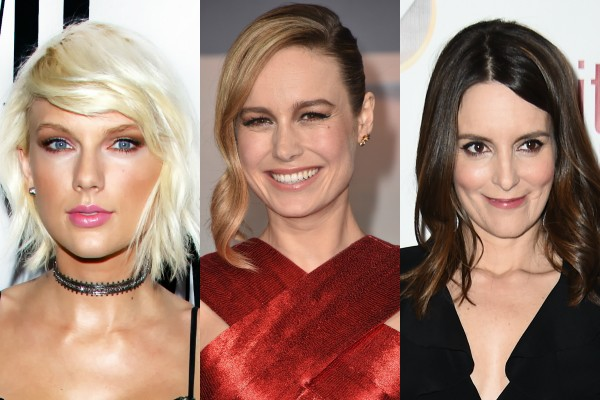Hacker ameaça vazar fotos íntimas de Taylor Swift, Brie Larson e Tina Fey (Foto: Getty Images)