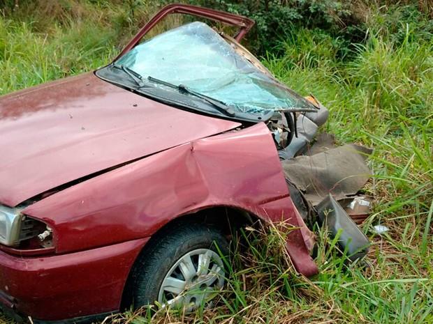 Acidente ocorreu na tarde deste sábado (Foto: Débora Ayane/Site Voz da Bahia)