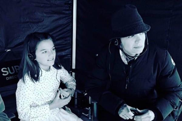 Suri e Katie Holmes (Foto: Reprodução Instagram)
