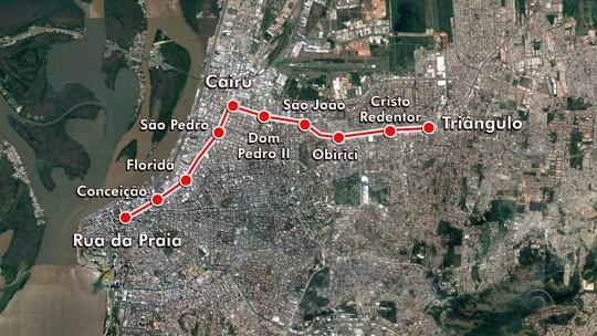 União cancela repasse de verba para obra de metrô em Porto Alegre