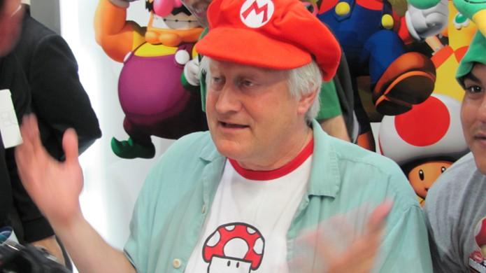 Charles Martinet tem sido a voz de Mario pelos últimos 20 anos (Foto: Reprodução/Hadouken)