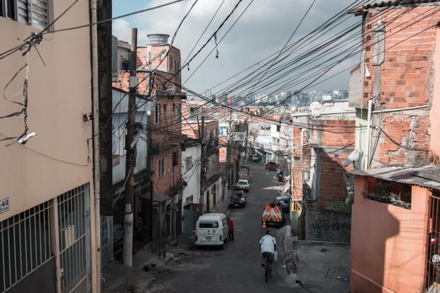 Comunidade de Heliópolis, na Zona Sul de São Paulo (Foto: Marcelo Brandt/G1)