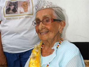 Dona Canô (Foto: Agência Estado)