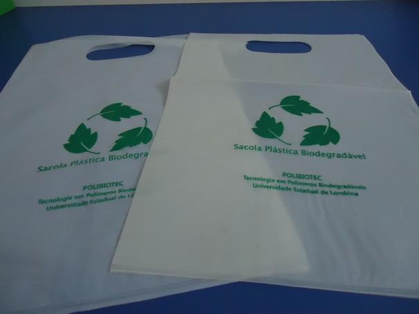 Sacolas biodegradáveis (Foto: Divulgação)