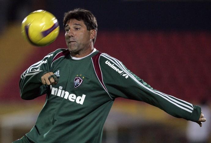 Renato Gaúcho Fluminense 2008 (Foto: Agência AP)