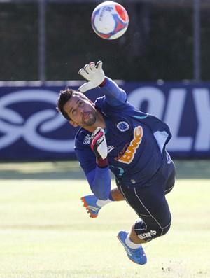 Fábio, goleiro do Cruzeiro (Foto: Washington Alves/ Lightpress)