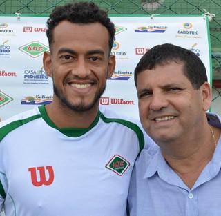 Diego Silva, reforço da Cabofriense (Foto: Andreia Maciel/ A.D Cabofriense)