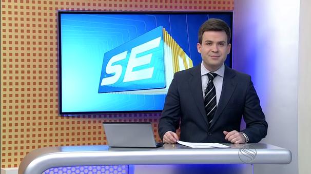 Lyderwan Santos apresenta o SETV 2ªEdição durante as férias de Susane (Foto: Divulgação / TV Sergipe)