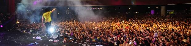 Público foi a estrela do Festeja Recife (Adriana Noya / G1)