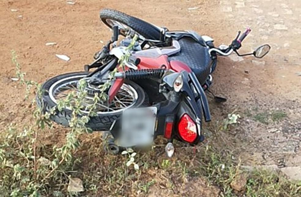 Família inteira estava na moto (Foto: Divulgação/Guarda Municipal de Guamaré)