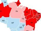 Dilma vence em 15 estados; Aécio em 11 e no Distrito Federal (Editoria de Arte/G1)