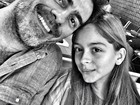 Junno aparece com a filha em foto antes de viajar para o Rio