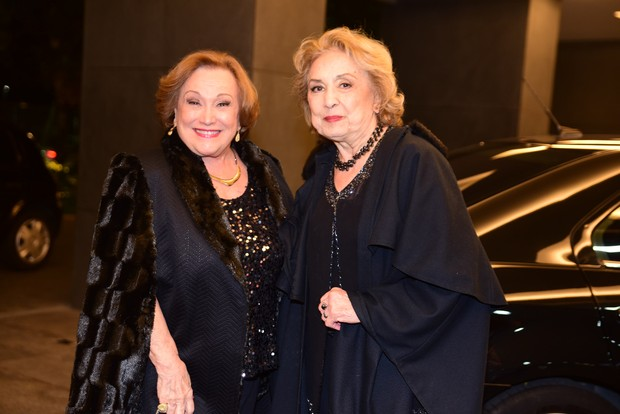 Nicette Bruno e Eva Wilma (Foto: Leo Franco / AgNews)