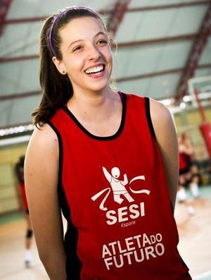 Bruna Caixeta Costa, jogadora do Sesi convocada (Foto: Divulgação/Sesi Uberlândia)
