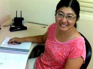 Angela Katayama, aprovada para o curso de medicina da Unicamp  (Foto: Arquivo pessoal)