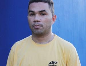 Jamisson Costa, jogador, piauí (Foto: Náyra Macêdo/GLOBOESPORTE.COM)