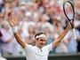 Federer derrota Berdych e luta por recordes e 8º título em Wimbledon