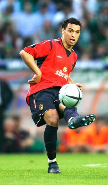 Daniel Carvalho na final da Copa da Uefa de 2005 (Foto: Agência Reutes)