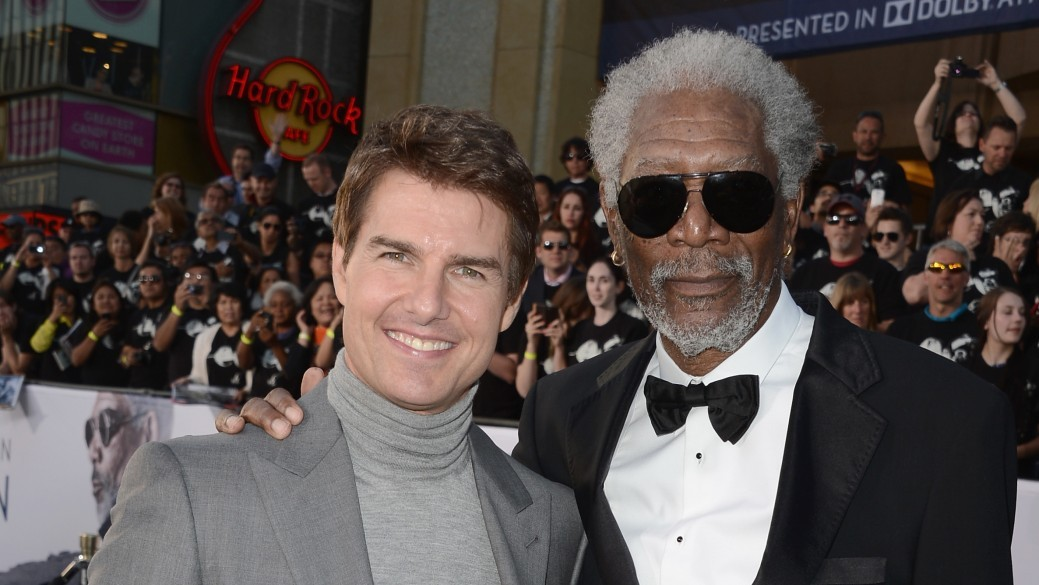 Tom Cruise e Morgan Freeman (Foto: Divulgação)