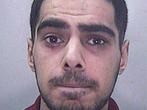 Mohammed Ali, de 21 anos, foi condenado a 32 meses de prisão por roubar casa (Foto: Divulgação/South Wales Police)
