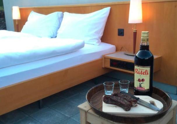 Hotel sem paredes está com reservas esgotadas (Foto: Divulgação)